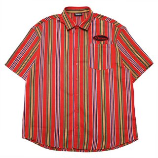 PLEASURES プレジャーズ NAILED S/S SHIRT/RED