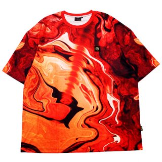 DOLLY NOIRE ドリーノアール BLASTER OVERSIZE S/S TEE/RED