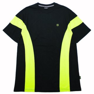 DOLLY NOIRE ドリーノアール TORNADO S/S TEE/BLACKxYELLOW