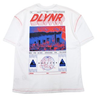 DOLLY NOIRE ドリーノアール DLYNR OVERSIZE S/S TEE/WHITE