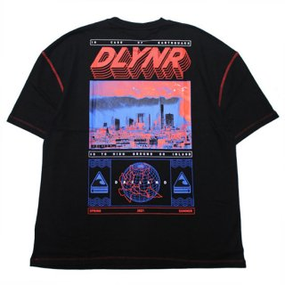 DOLLY NOIRE ドリーノアール DLYNR OVERSIZE S/S TEE/BLACK