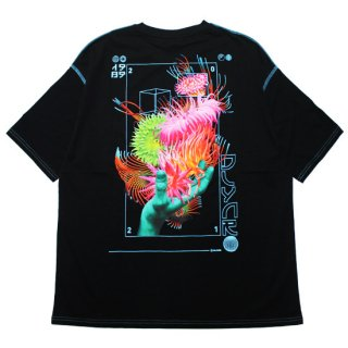 DOLLY NOIRE ドリーノアール ANEMONE OVERSIZE S/S TEE/BLACK