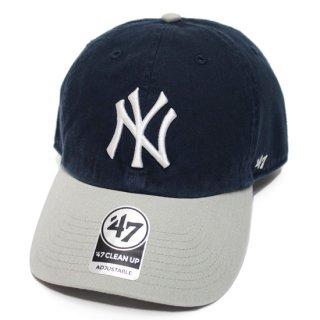 '47 フォーティーセブン YANKEES '47 CLEAN UP CAP/NAVYxGREY