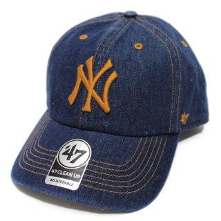 '47 フォーティーセブン YANKEES MEADOWOOD STITCH '47 CLEAN UP CAP/NAVY