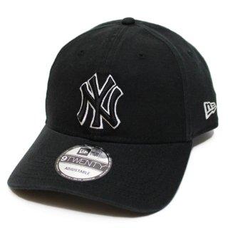 NEWERA ニューエラ NEWYORK YANKEES 9TWENTY CAP/BLACK