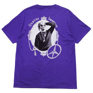 FOR THE HOMIES フォーザホーミーズ QUALITY SUPERIOR CHAMPION S/S TEE/PURPLE