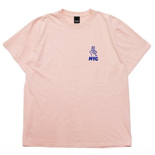 ONLY NY オンリーニューヨーク PEACH NYC S/S TEE/PALE BERRY