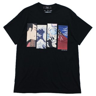 LONELY 論理 ロンリー BF JAPONISM POCKET S/S TEE/BLACK