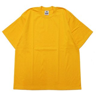 PRO CLUB プロクラブ HEAVYWEIGHT CREW NECK S/S TEE/GOLD