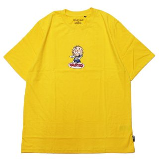 WASTED PARIS ウェステッドパリス WASTED x VINCENT MILOU ROOKIE S/S TEE/SUNFLOWER YELLOW
