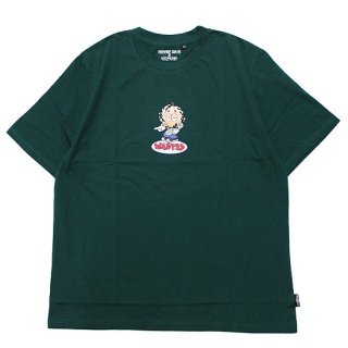 WASTED PARIS ウェステッドパリス WASTED x VINCENT MILOU ROOKIE S/S TEE/FOREST GREEN