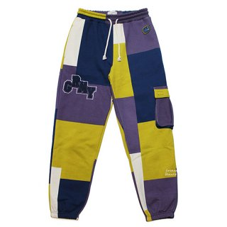 GRIMEY グライミー SINGGANG JUNCTION ALL OVER PRINT SWEATPANTS GRTS211/NAVY