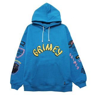 GRIMEY グライミー DESTROY ALL FEAR HOODIE GCH504/BLUE