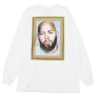RAP ATTACK ラップアタック THE MOST FEARED MAN L/S TEE RAAW21-LT001/WHITE