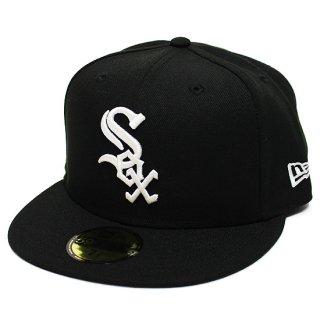NEWERA ニューエラ CHICAGO WHITESOX 59FIFTY FITEED CAP/BLACKxWHITE