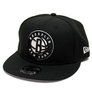 NEWERA ニューエラ BROOKLYN NETS 9FIFTY SNAPBACK CAP/BLACK