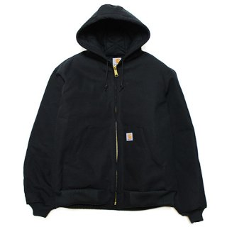CARHARTT カーハート QUILTED FLANNEL-LINED DUCK ACTIVE JACKET J140/BLACK