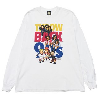 RAP ATTACK ラップアタック THROW BACK 90S L/S TEE RAAW21-LT005/WHITE