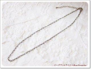 金古美・シルバー・ゴールド フィガロチェーン 40センチ