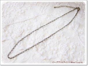 金古美・シルバー・ゴールド フィガロチェーン 50センチ