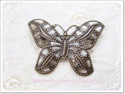 「変容の魔法」蝶々 ブローチ