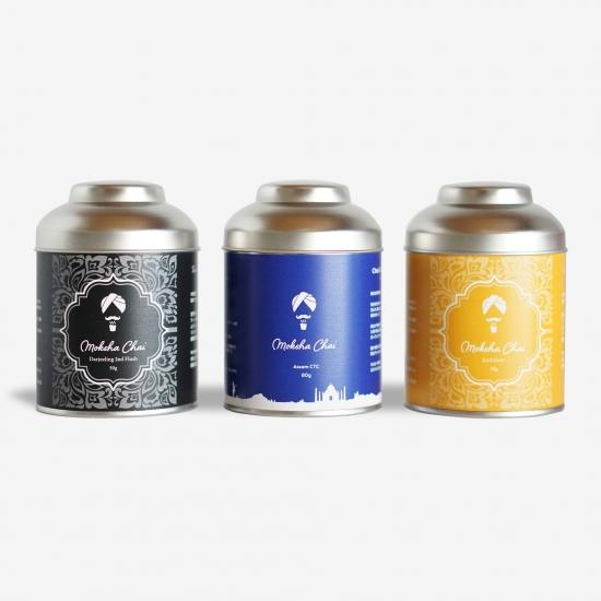 インド紅茶 缶