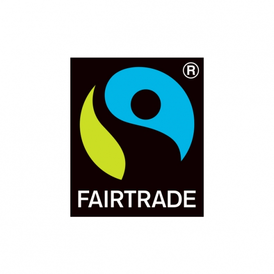 フェアトレード国際認証ラベル取得のお知らせ