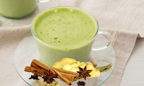 免疫力UP!日常的に美味しくできる緑茶チャイの簡単レシピ