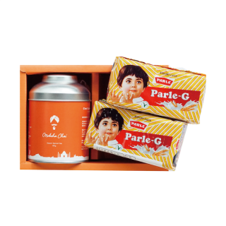 チャイ缶&パルレジー(Parle-G)ビスケットセット