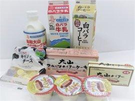 白バラ牛乳大満足セット【要冷蔵】
