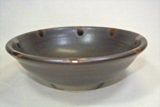 深皿(褐色釉)