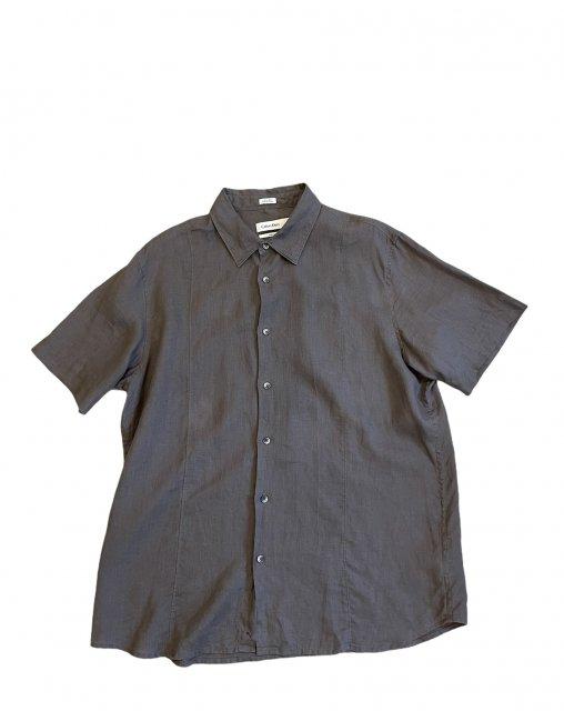 Calvin Klein - 100% Linen S/S Shirt