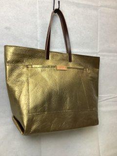 ゴールドトートバッグ