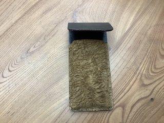 かばの皮のペンケース