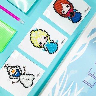 アナと雪の⼥王シリーズ ディズニー キュービック FROZEN DIY CUBIC PAINTING (10X10)