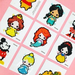 プリンセスシリーズ ディズニー キュービック PRINCESSE DIY CUBIC PAINTING (10X10)