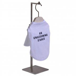 【A.U.S. Dogs】Tシャツ ロゴプリント(ホワイト)