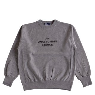 【A.U.S. M&W】スウェットシャツ レフロゴ2(ミックスグレー)