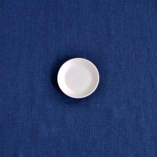 【彫付】十草 丸皿(3寸)