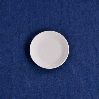 【彫付】十草 丸皿(4.5寸)