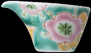 銀舟窯 希望の花(緑)