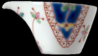 銀舟窯 花飾り