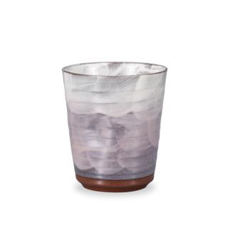 フリーカップ 釉彩 パ−プル