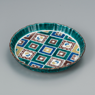 6.5号盛皿 石畳の図