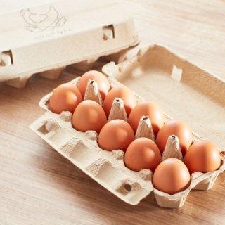 しあわせなたまご!最高級卵「箱庭たまご茜」<br>23個入り(送料別)