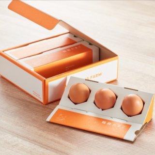 【ギフト用たまご】箱庭たまご「茜」<br>贈答用BOX(9個・送料別)