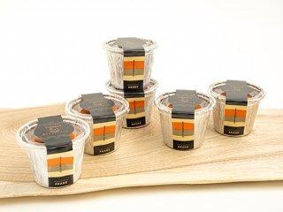 「箱庭たまご茜」カタラーナ<br>(焼きアイスプリン)<br>6個(送料別)※冷凍配送のためカタラーナ以外との同梱不可