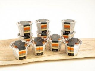 「箱庭たまご茜」カタラーナ<br>(焼きアイスプリン)<br>10個(送料別)※冷凍配送のためカタラーナ以外との同梱不可