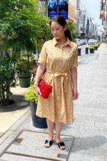 リバティ ワンピース《クレメンティナ〜Clementina〜》