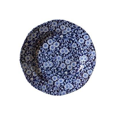 Burleigh(バーレイ) プレート小 19cm <Blue Calico>ブルーキャリコ